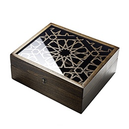 Tea Box: Moucharabieh, Wood and Plexiglas