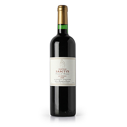 Wine: Chateau Sanctus, Le Bordeaux 2005