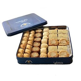 Baklava Mixed Cashews TIN Gift Box (Oriental Sweets)