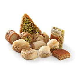 Baklawa Mixed (Pistachio and Cashew)
