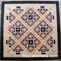 Marble Mosaic Geometric Design (MG 006A)