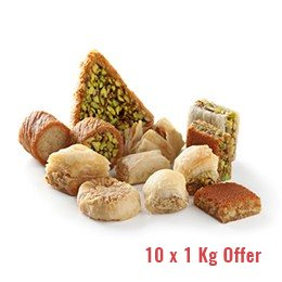 Baklawa Mixed (a 10 Kgs Special Offer)