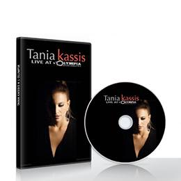 CD & DVD Tania Kassis: Live at L Olympia (PAL)