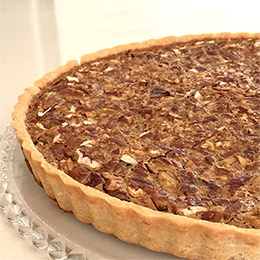 Cake:  Pecan Pie Tart, for 10 People