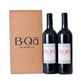 Wine:  B-qa de Marsyas, 2 Bottles Red