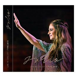 CD DVD: Julia Live in Concert Tyre 2018 (Julia Boutros)